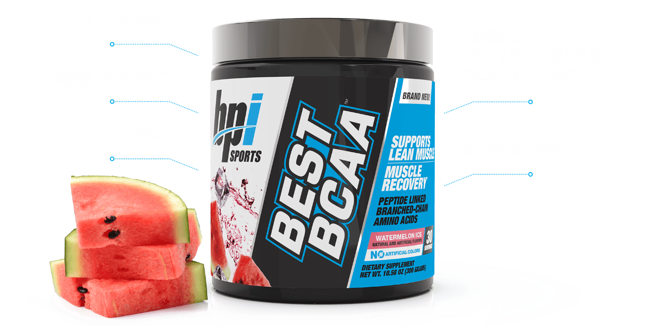 Best BCAA™ - Branched-Chain Amino Acids (30 Servings) Showcase