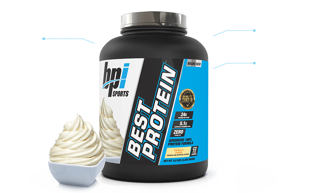 Best Protein™ - Whey Protein Blend (5 LB) Showcase