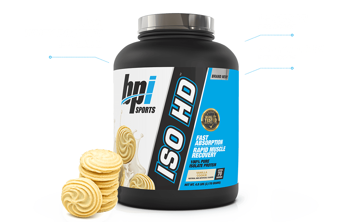 ISO HD™ - Isolate Protein (4.9 LB) Showcase