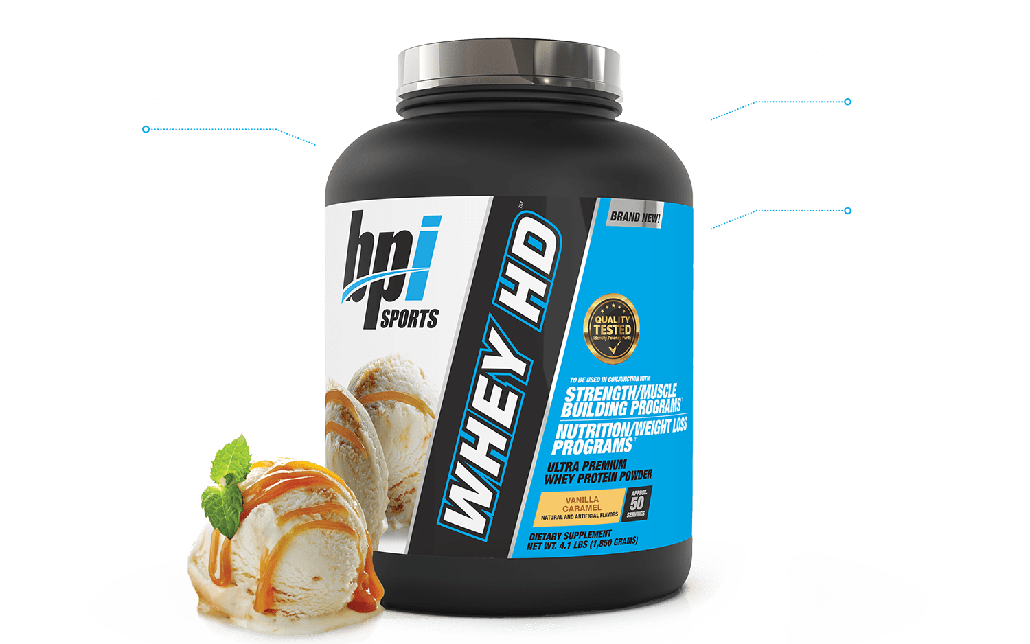 Whey HD™ - Whey Protein (4 LB) Showcase