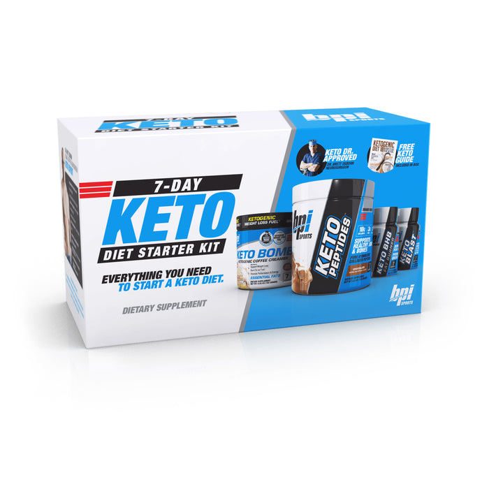 7-Day Keto Diet Starter Kit - Weight Loss Stack