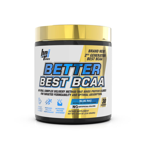 BETTER BEST BCAA - Muscle Building & Recovery (30 Servings)