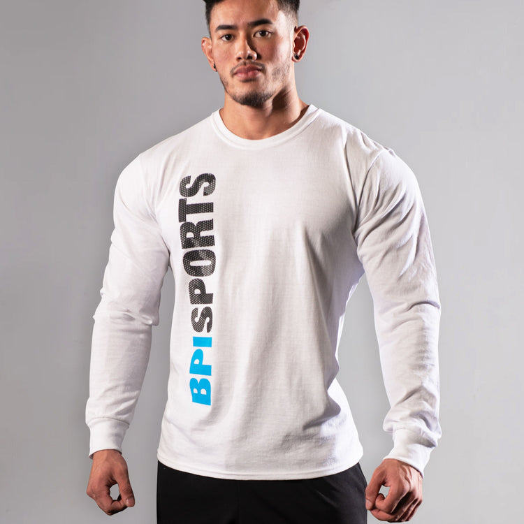 BPI Vertical Logo Long Sleeve Tee