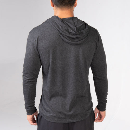 back of the BPI Sports Training Long-Sleeve Hoodie