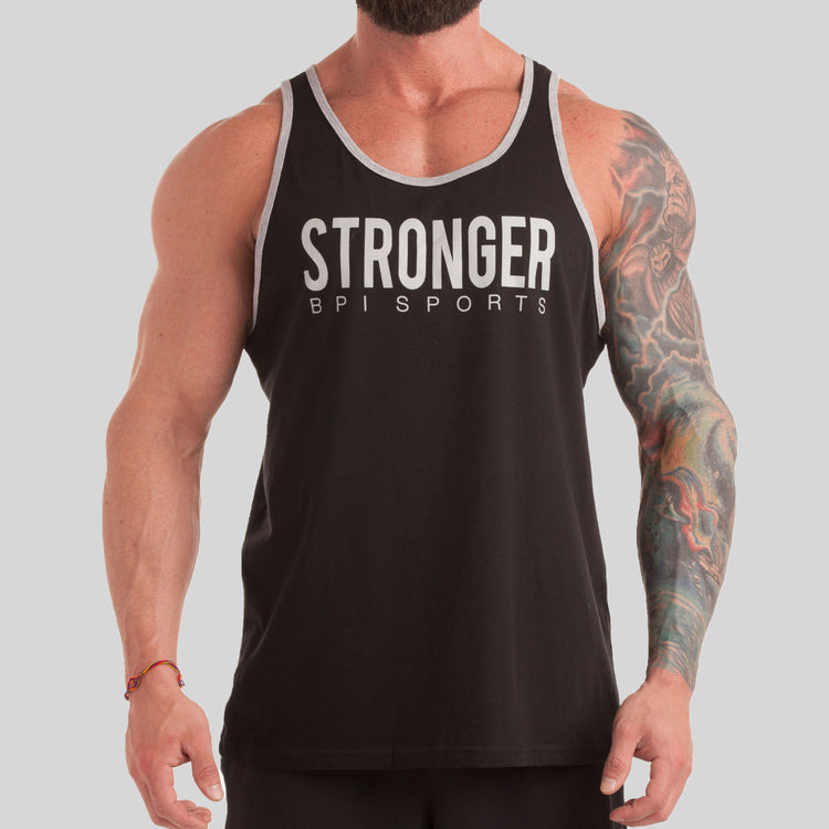 BPI Sports Stronger mens tank top and workout shirt