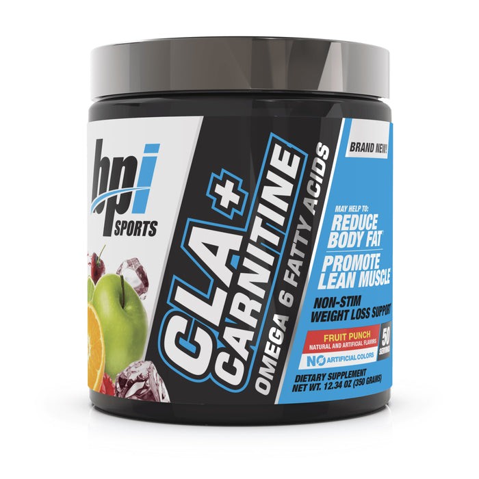 BPI Sports CLA + Carnitine Fruit Punch 50 Servings