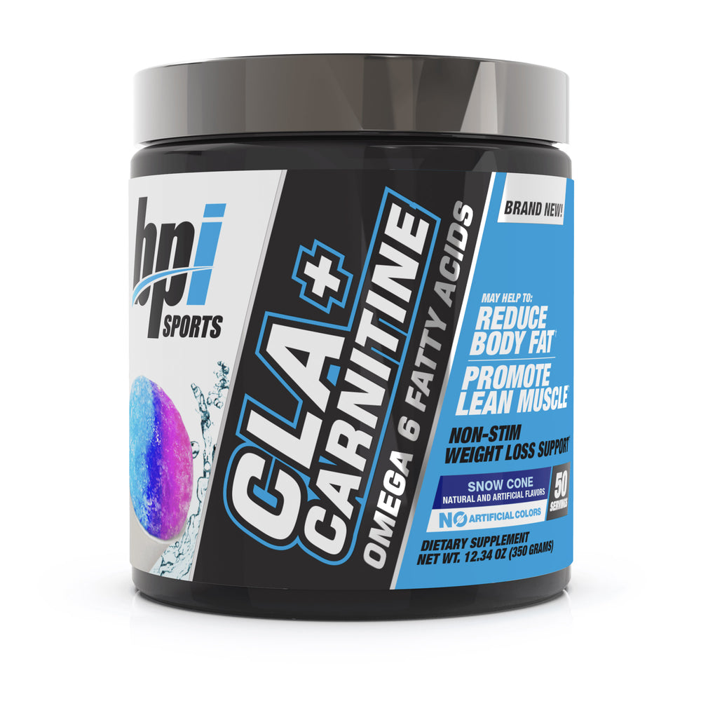 BPI Sports CLA + Carnitine Snow Cone 50 Servings