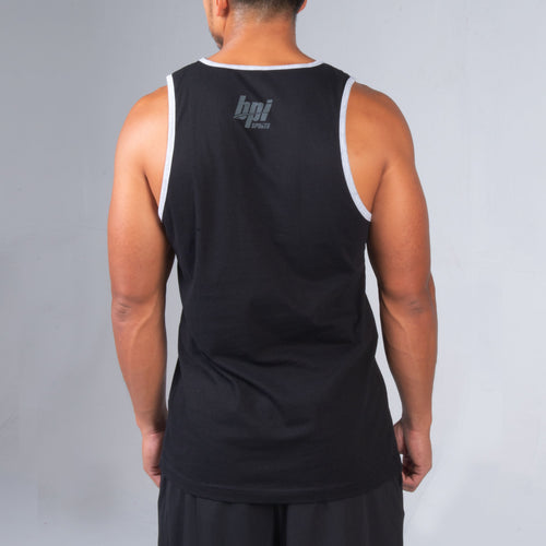 Back of BPI Sports You Get Stronger Tank Top for men