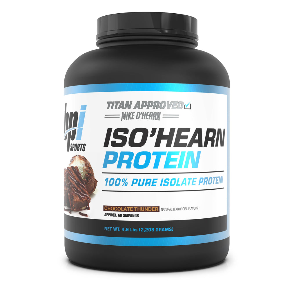 Titan Series ISO'HEARN Protein - Chocolate Thunder Flavor