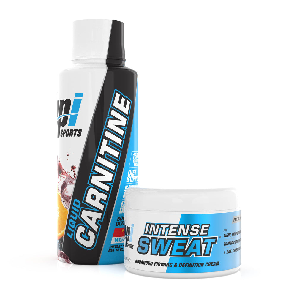 Weight Loss Combo Stack Contains Liquid Carnitine and Intense Sweat