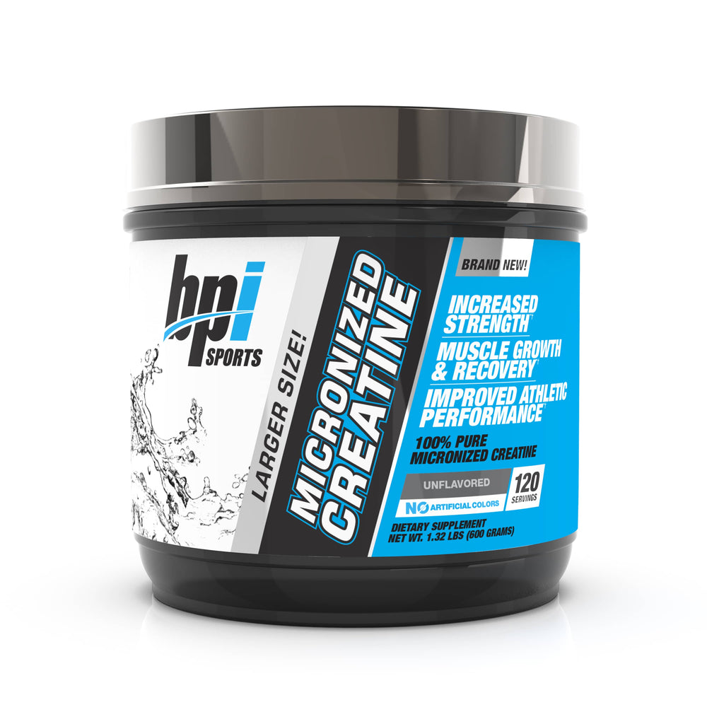 BPI Sports Micronized Creatine Unflavored 120 Servings