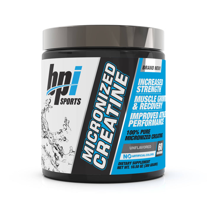 BPI Sports Micronized Creatine Unflavored 60 Servings