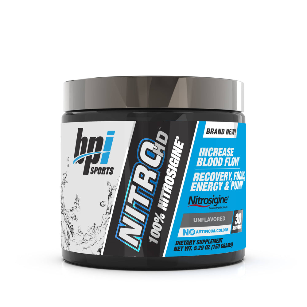 BPI Sports Nitro HD Unflavored 30 Servings