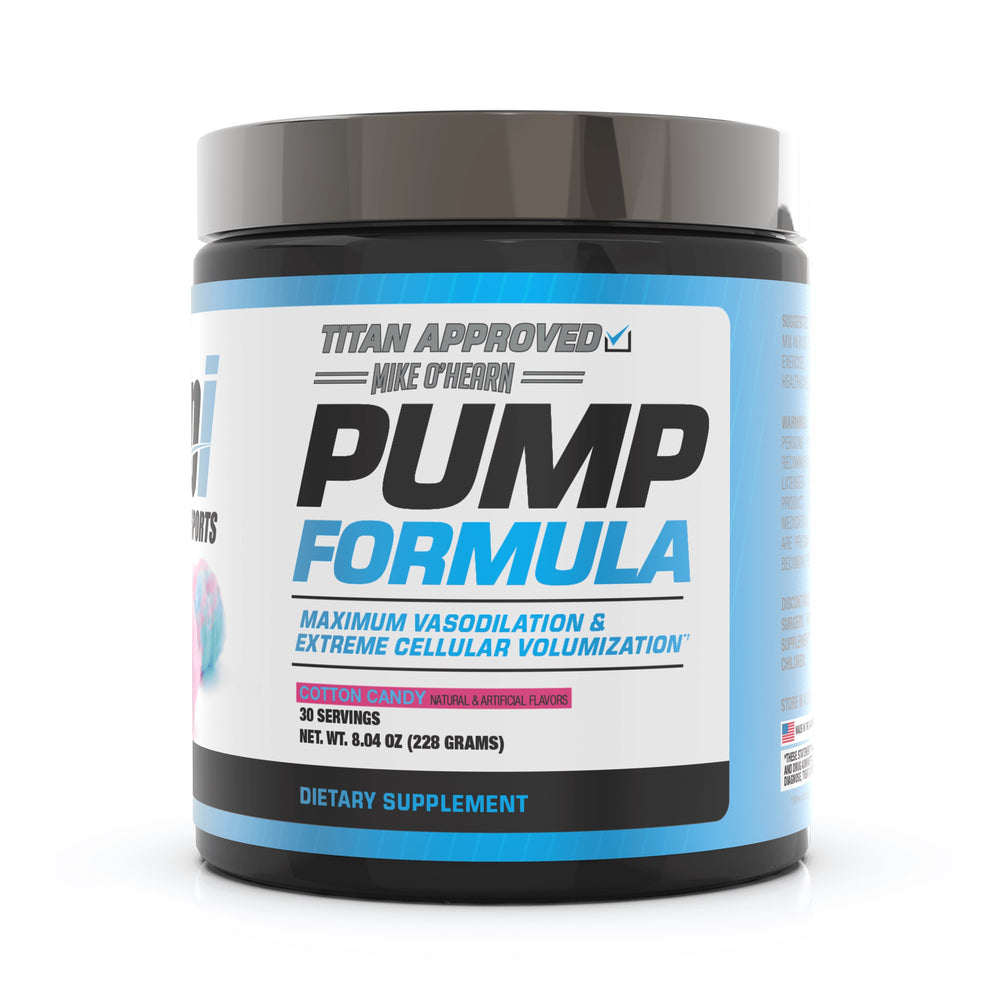 BPI Sports Mike O'Hearn Titan Series Pump Formula Cotton Candy