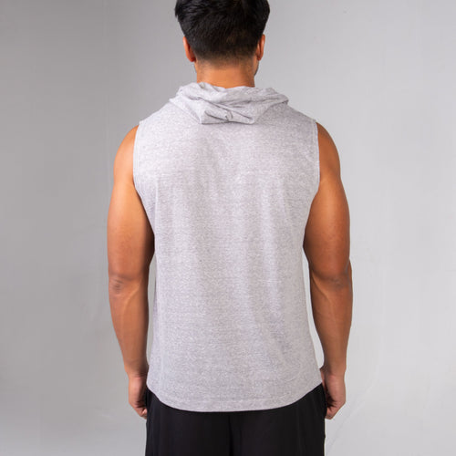 Back of the BPI Sports Stronger Lifts Sleeveless Hoodie
