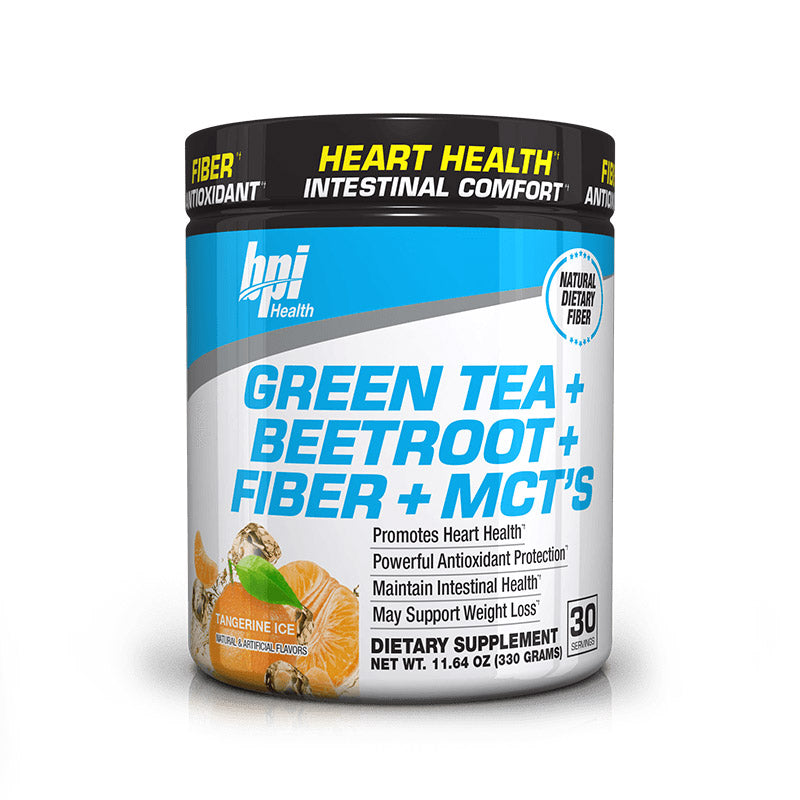 Green Tea + Beetroot + Fiber + MCTs - Antioxidant Support (30 Servings)