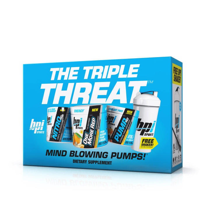 Triple Threat Kit™ - Pre-Workout and Performance