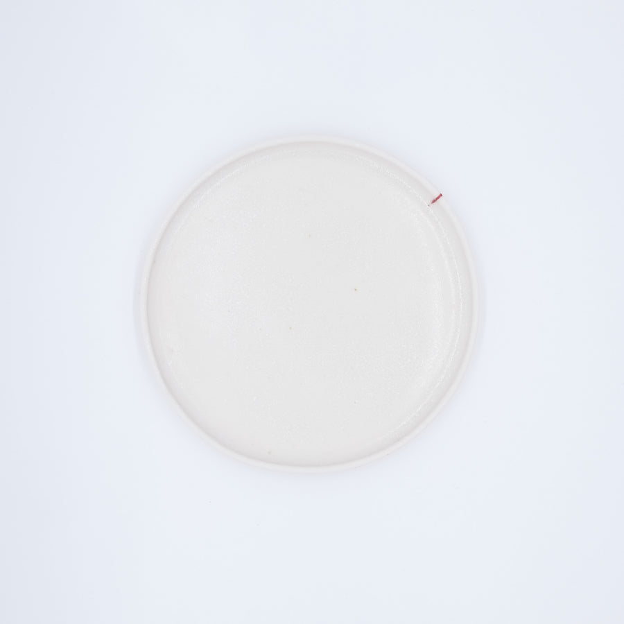 Plate Red line 18cm