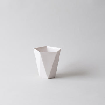Pentagon Bowl TALL, Porcelain