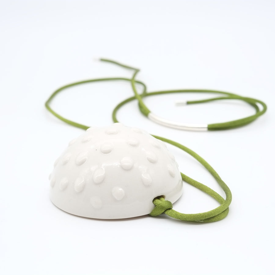 SEA URCHIN CERAMIC NECKLACE