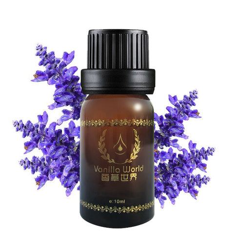 free shipping Clary sage essential oil 10ml oil the contraction pore pure essential oil D40