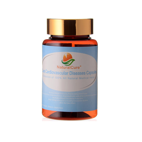 NaturalCure Cure Cardiovascular Diseases Caps-ules, Lower Bl-ood Lipid, Bl-ood Sugar and Bl-ood Pressure, Prevent Heart Attack