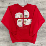 Vintage 90's PLAYING CARD Bridge Crewneck Sweatshirt