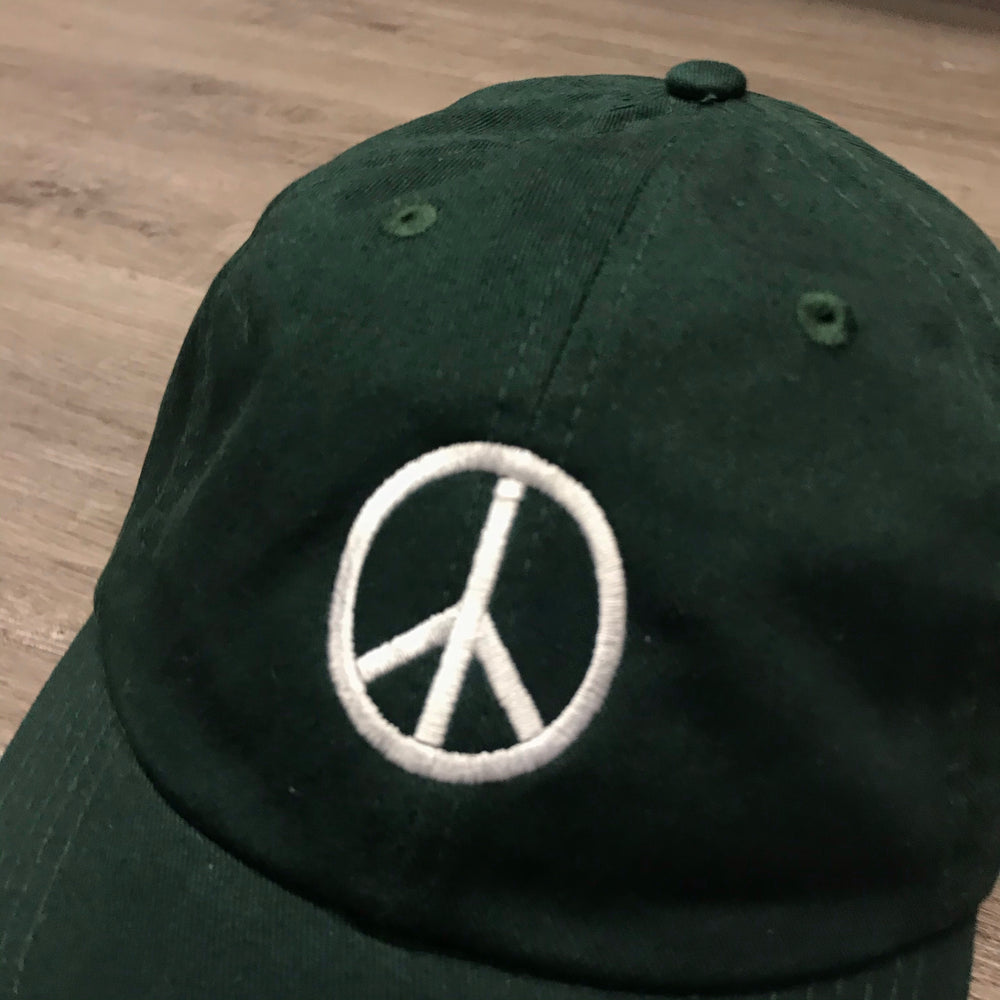 VINSTINCTS Peace Sign Dad Hat
