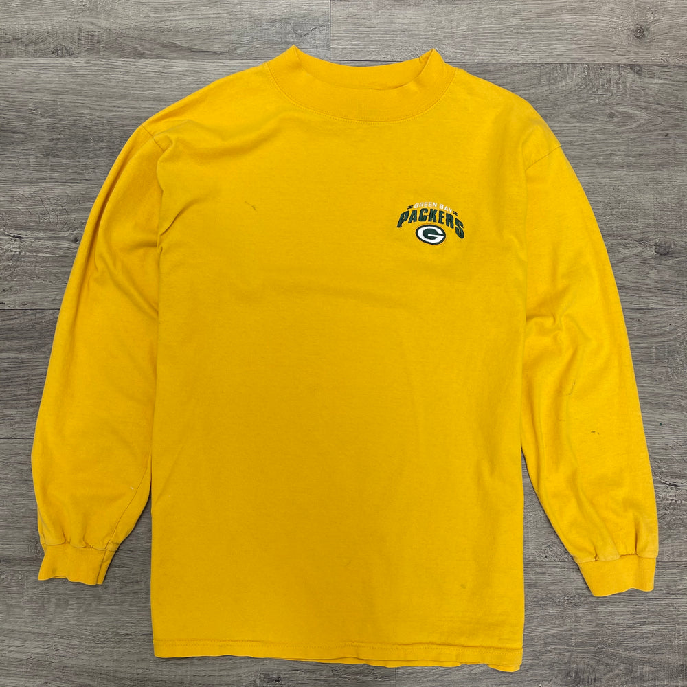Vintage NFL Green Bay Packers Mock Neck Long Sleeve