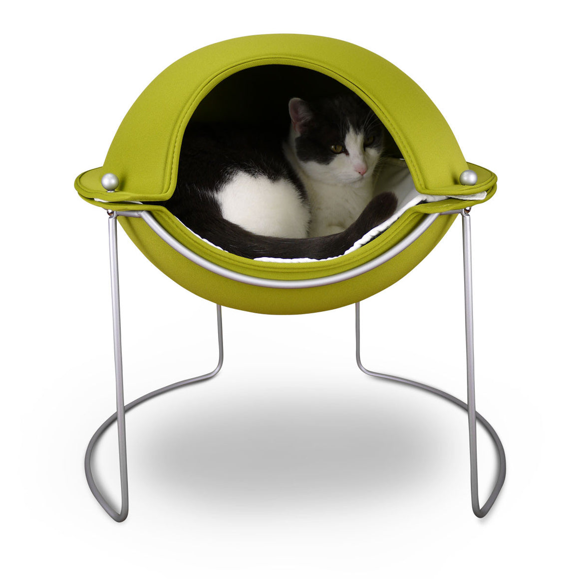 Hepper Pod Cat Bed Green