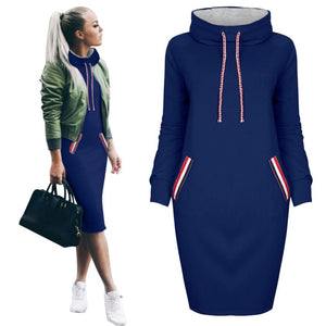 Casual Sweatshirt Dress