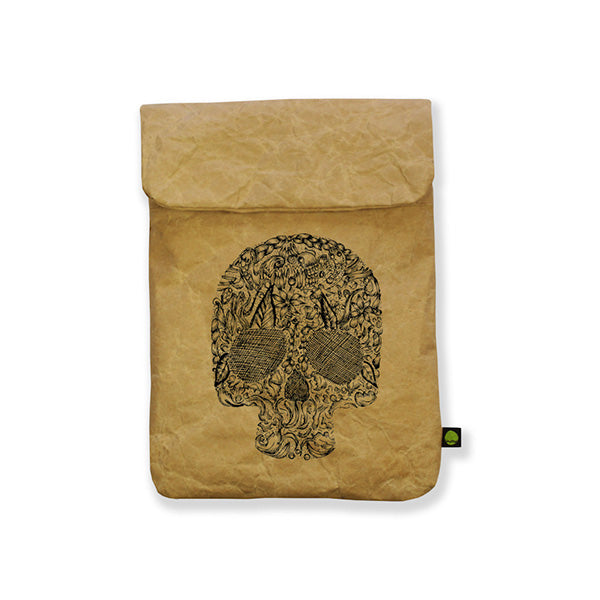 porta mini ipad kindle calavera