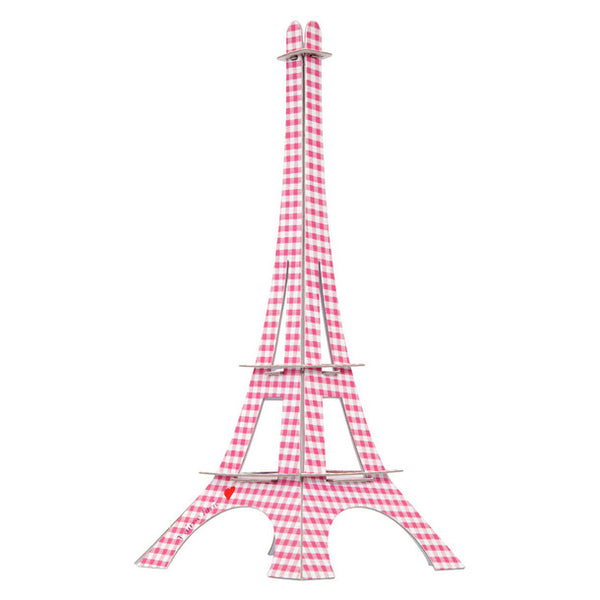 Torre Eiffel Armable rosa