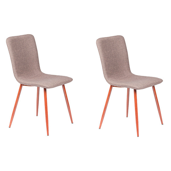 Set de 2 Silla Scargill Cafe