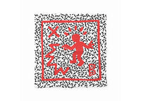 Pañoleta Keith Haring Red
