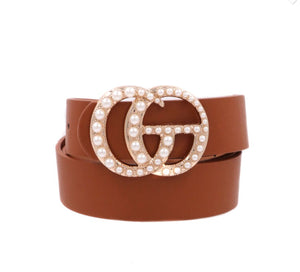 Pearl Double Luxe Belt