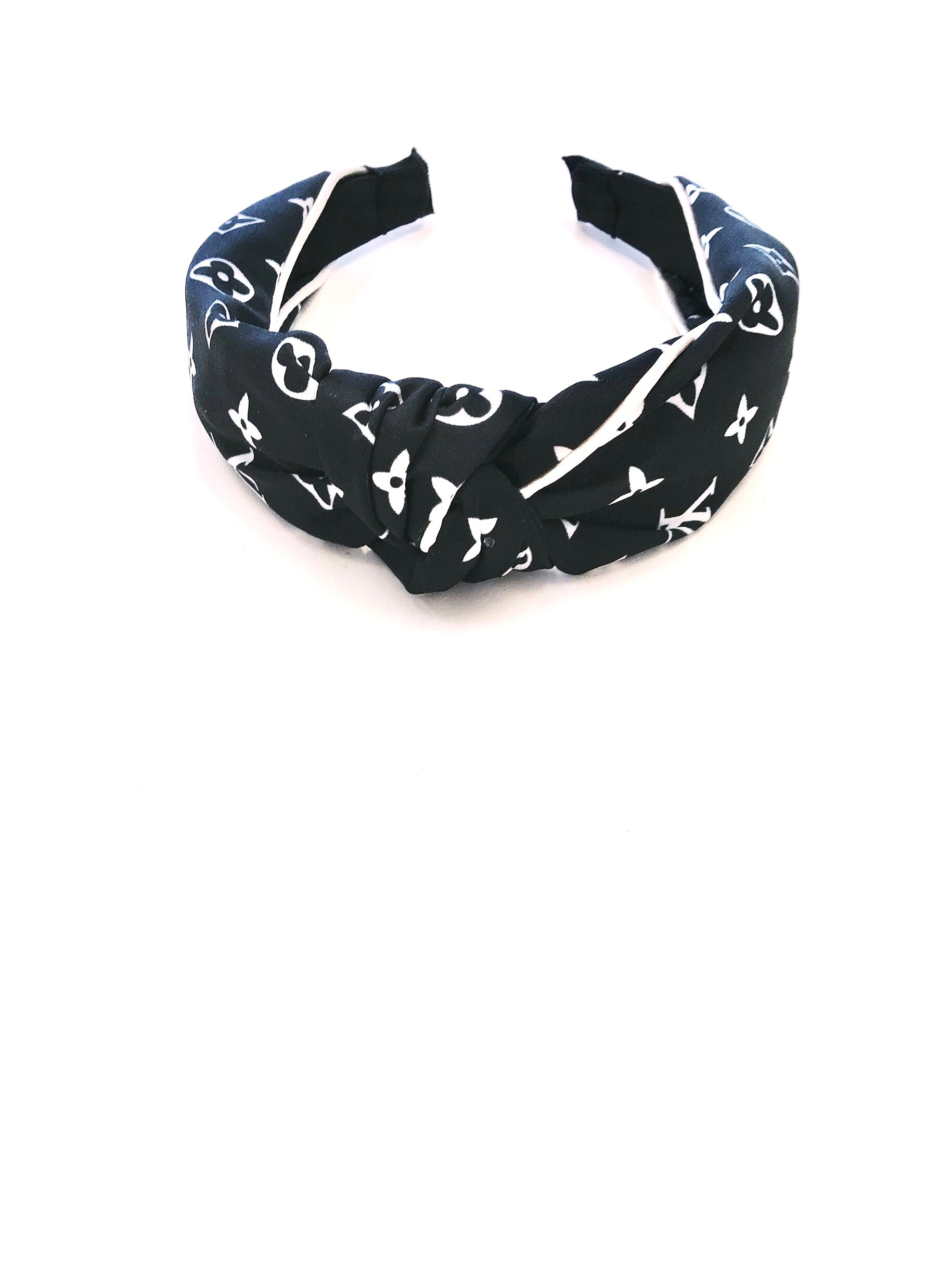 LV Inspired Knot Headband