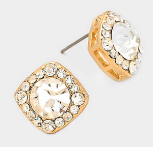Blingy Stud Earrings
