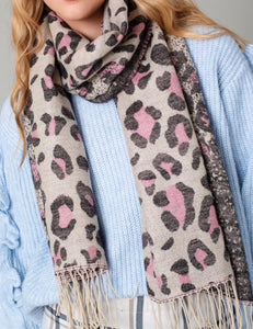 Leopard Luxe Scarf