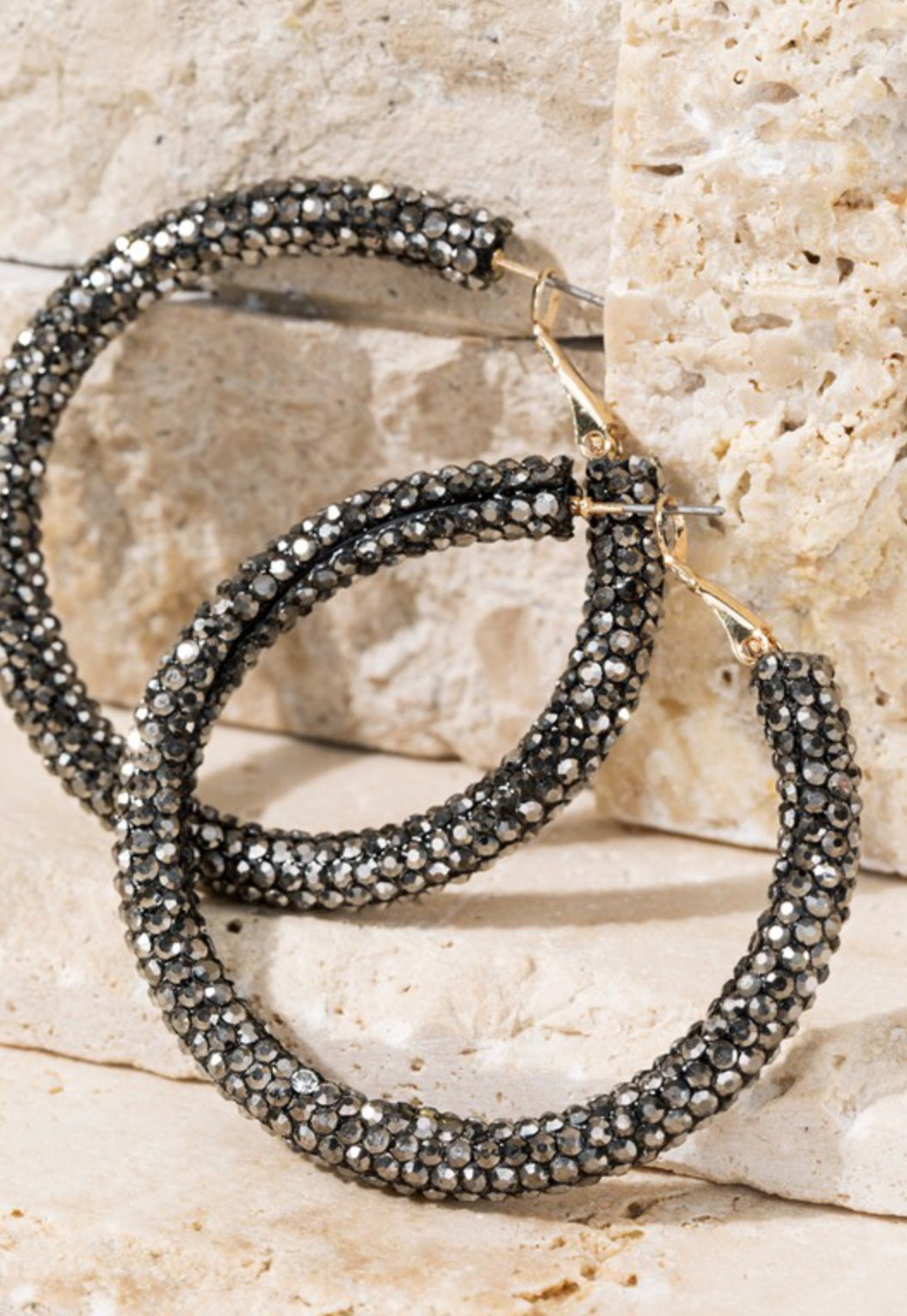 Elegant Night Hoop Earrings