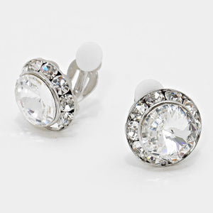 Stud Clip on Earrings