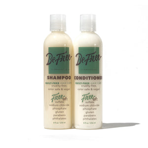 BE FREE 8 oz. SHAMPOO & CONDITIONER COMBO