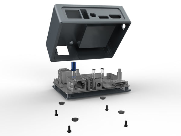 KKSB Odroid XU4 Machined Case - Aluminium