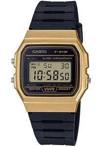 Casio Unisex  F-91WM