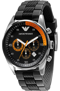 Emporio Armani Orange Chronograph