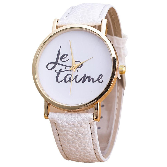 Je t'aime White Gold