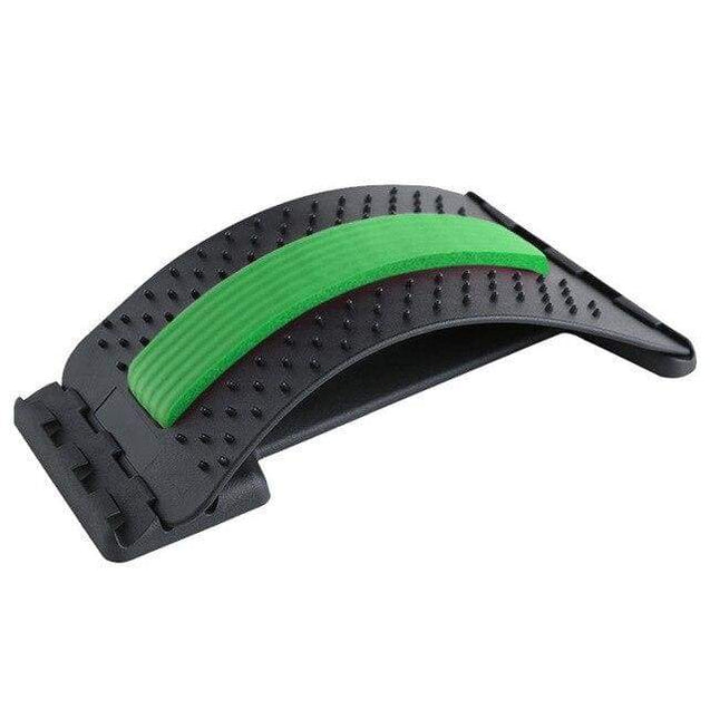 Back Stretch Equipment Massager Magic Stretcher - Acupuncture green - SoTrendify
