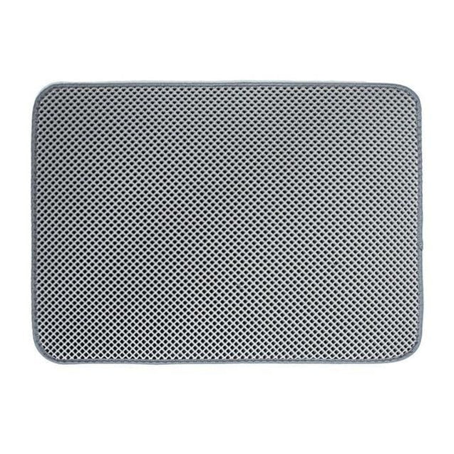 Cat Double-Layer Mat (Easy Clean Anti Slip) - Gray / 55 X 70cm / United States - SoTrendify