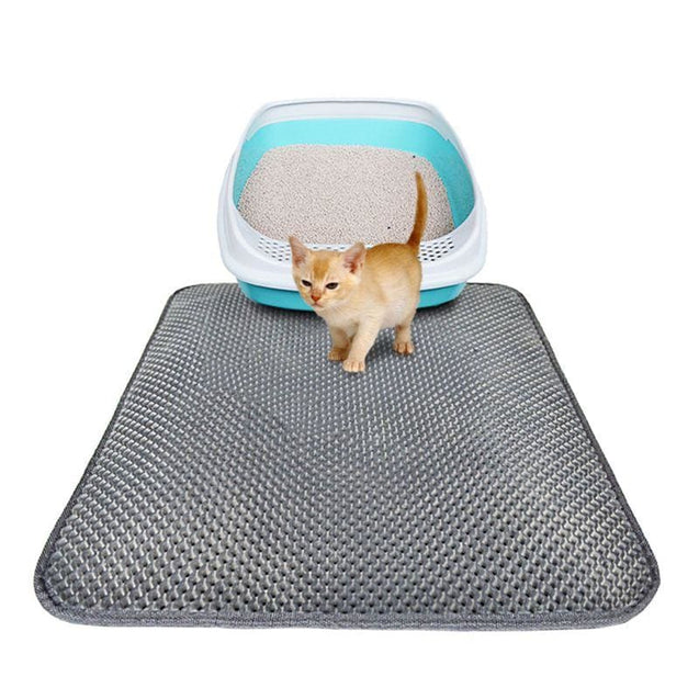 Cat Double-Layer Mat (Easy Clean Anti Slip) - SoTrendify