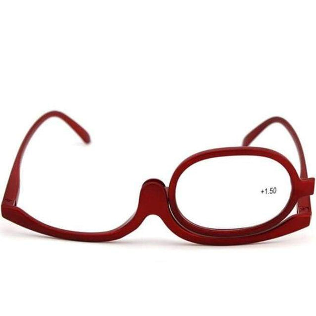 Clear Make Up Glasses - +150 / red - SoTrendify